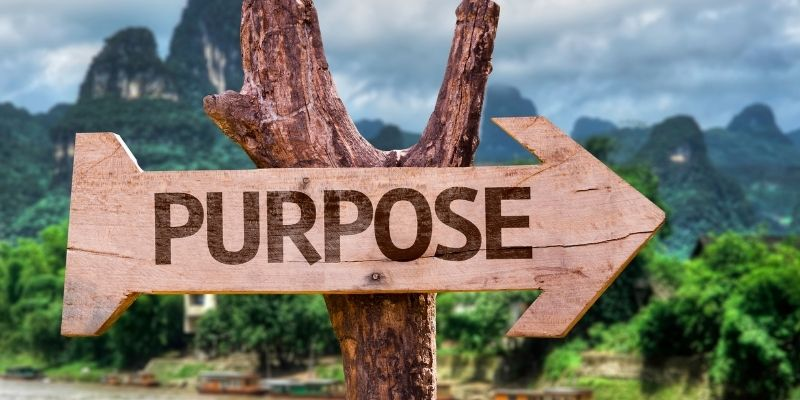 Finding Your Life Purpose Sign